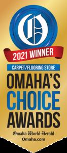 2021 Carpet Flooring Store Omaha Choice Awards Winner