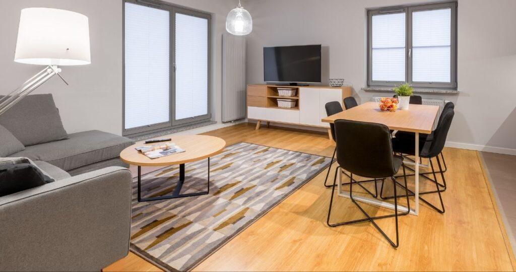 renter friendly flooring